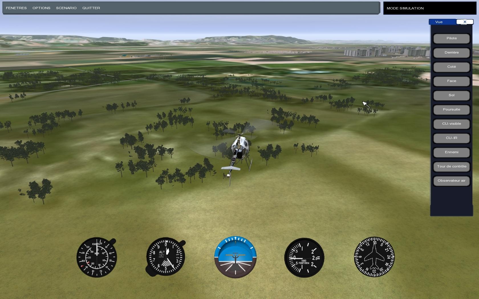 Simdrone UAV simulator by H-SIM