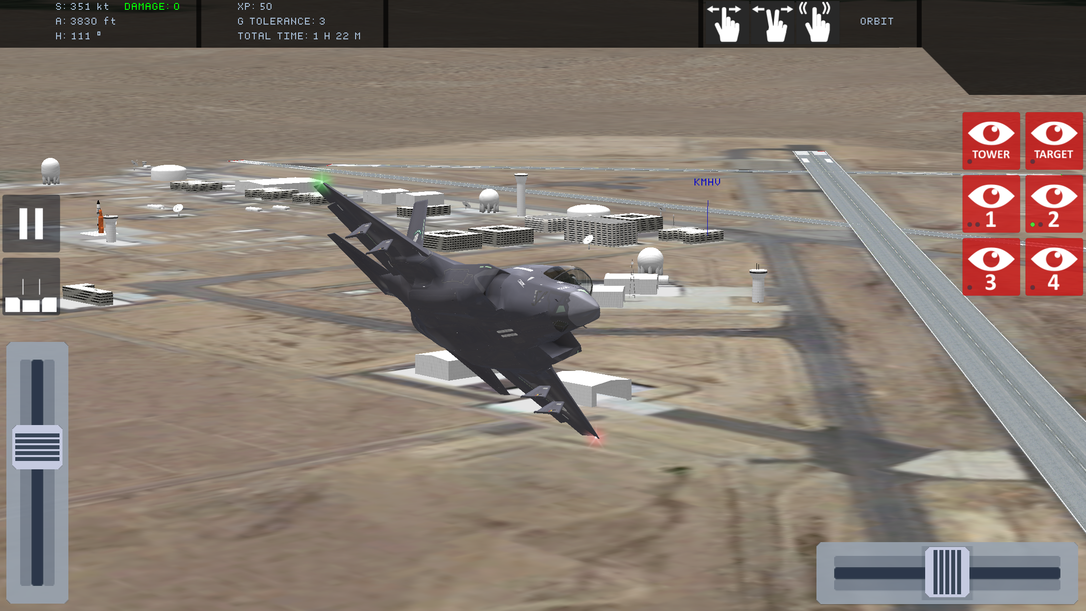 Special Air Wing for iOS / Client: Simception ltd / UK – H-SIM